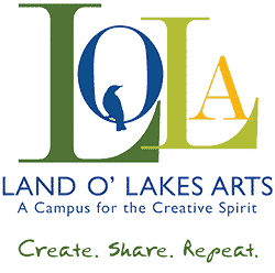 LOLA Arts in Land O Lakes Wisconsin logo