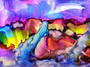 Explore the Vibrant Colors of Alcohol Ink