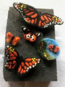 LOLA-Felted Butterflies @ Land O' Lakes Arts