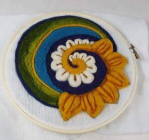 """""""Flower Fantasy"""" Wool Zoom Class"""