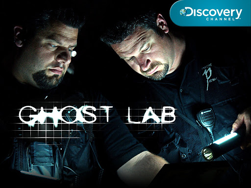 Photo of the Klinge Brothers, with Discovery Channel logo